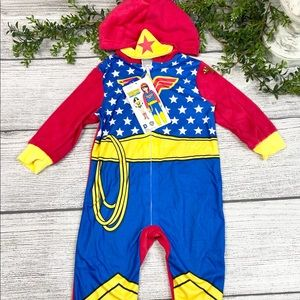 NEW Wonder Woman Kids Outfit Costume PJs 2T